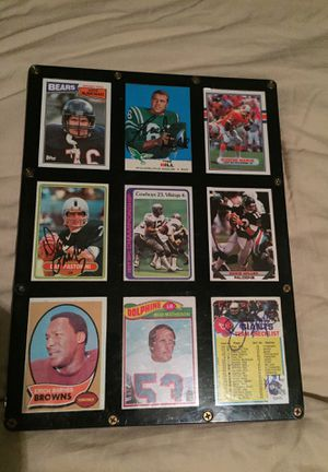 Original Signed Football Cards for Sale in Hyattsville, MD