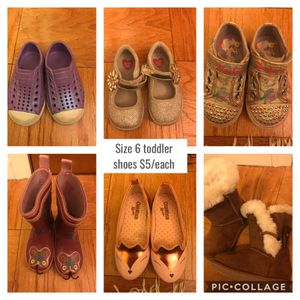 Toddler size 6 shoes for Sale in Shoreline, WA