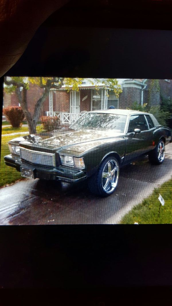 79 Monte Carlo 350 Motor Shift Kit In Trans Gucci Interior Davin Spinning Wheels Car Has Been Sitting Serious Inqurys Only MAKE AN OFFER