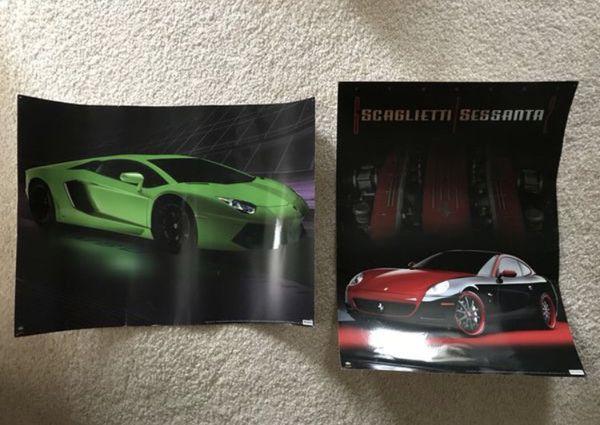 Lamborghini And Ferrari Posters For Sale In Tacoma Wa Offerup