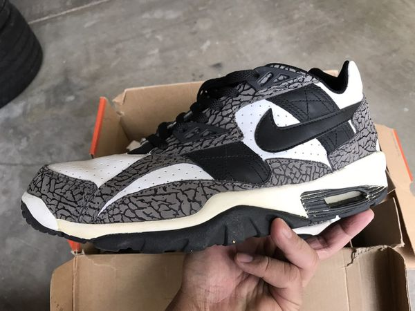 Bo Jackson Nike Air Trainer Low SC Elephant Print for Sale in Corona, CA -  OfferUp