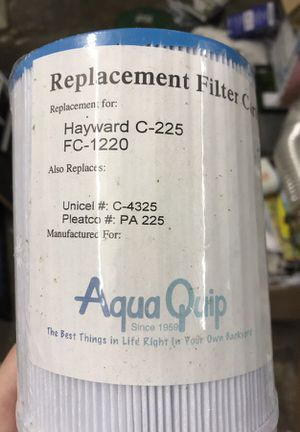 Hot tub or pool filter, very common filter brand new in wrap for Sale in Arlington, WA