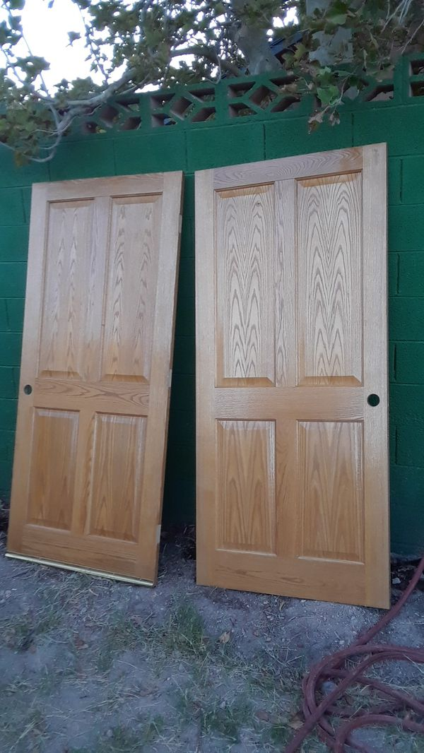 Oak Interior Doors For Sale In Las Vegas Nv Offerup