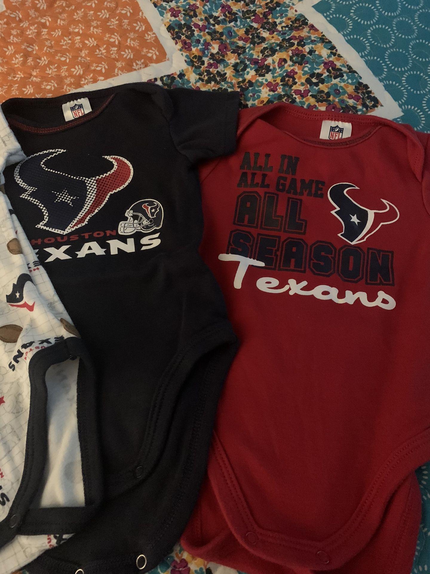 Texans onesies
