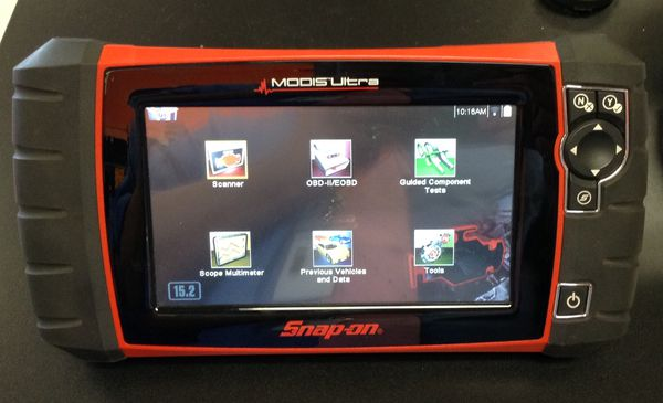 Snap-On Modis Ultra EEMS328 v15 2 Diagnostic Scanner 97084-1 for Sale in  Peoria, AZ - OfferUp