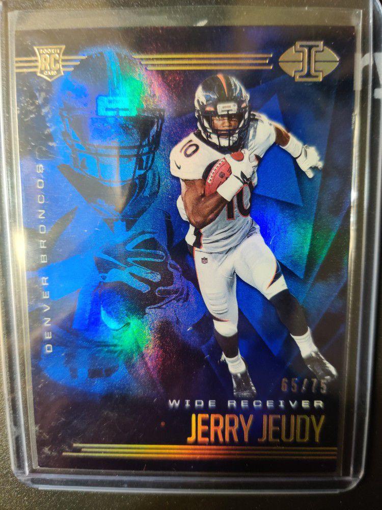 Jerry Jeudy Rookie Card #65/75