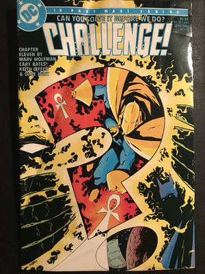 "DC 12 Part Maxi/Series ""CHALLENGE"" Comic Book for Sale in Dallas, TX"