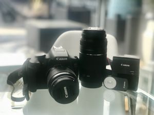 Canon T6 DSLR Camera Body w/ Canon 18-55mm Lens + Canon EF 75-300mm for Sale in Brooklyn, NY
