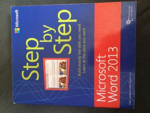 Microsoft Word 2013 college book for Sale in Pittsburgh, PA