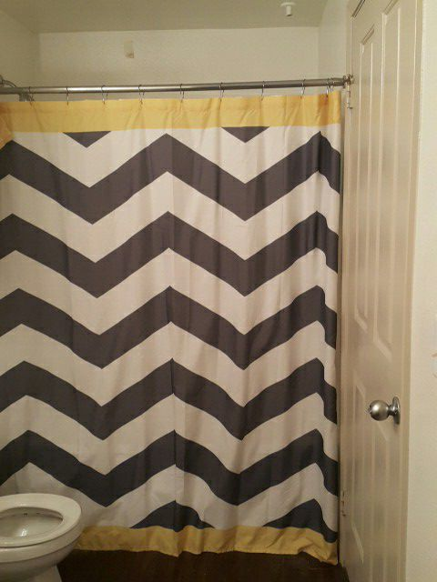 Mainstay Shower Curtain With Matching Bin And Toothbrush Holder Household In Houston TX