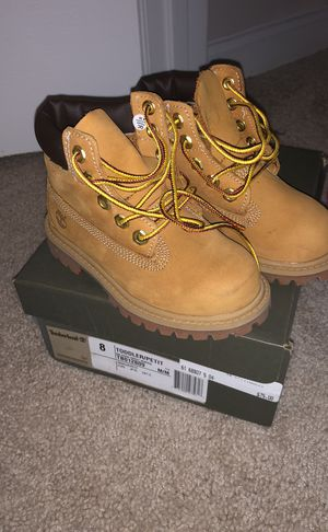Timberland size 8 Toddler for Sale in Germantown, MD