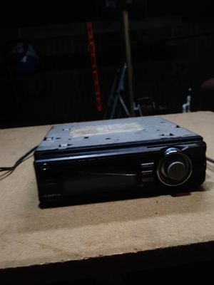 Sony radio 30.00 55×4 channel with wiring harness for Sale in Orlando, FL