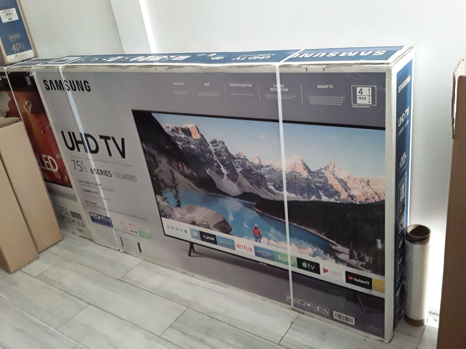 75 Samsung Smart 4k UHD TV LED HDR QUANTUM