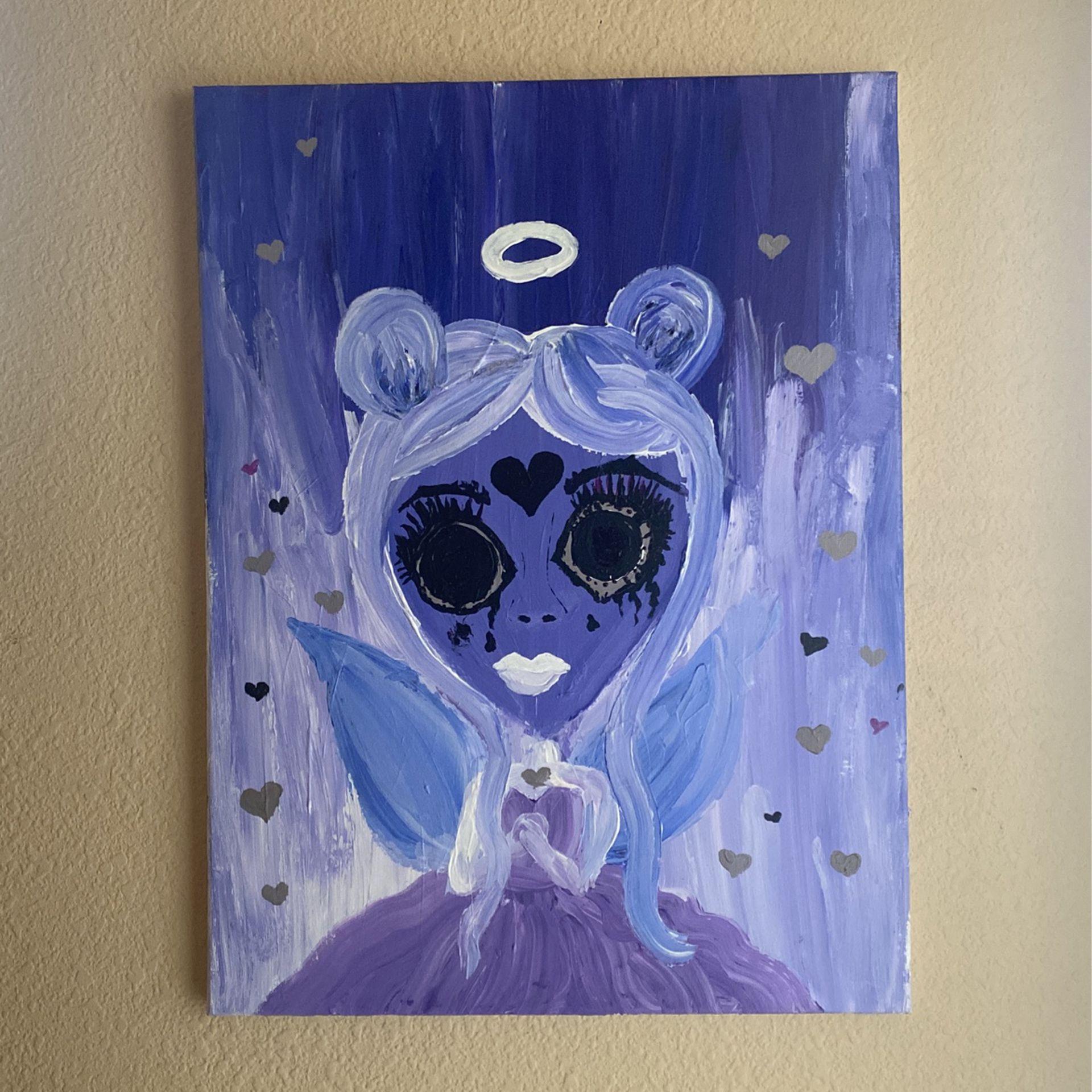Girl Ethereal Angel Canvas