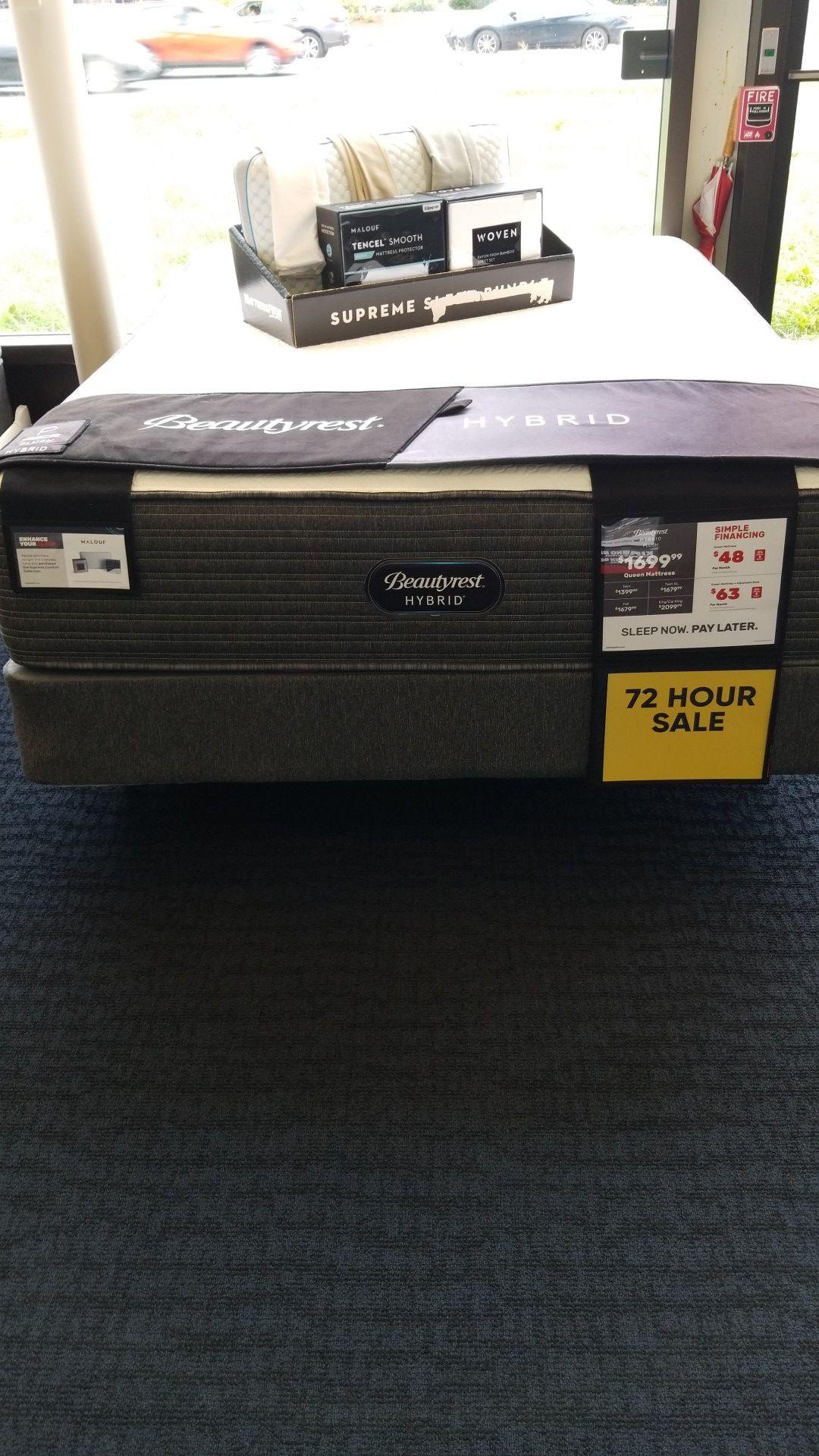 Simmons Beautyrest Hybrid Plush mattress