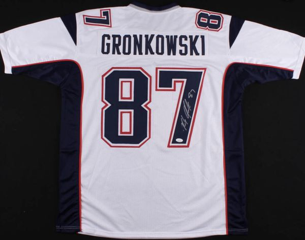 competitive price 693b3 c0801 Autographed Rob Gronkowski New England Patriots jersey for Sale in Moreno  Valley, CA - OfferUp