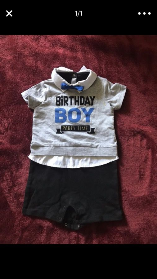First Bday Dress For Boy