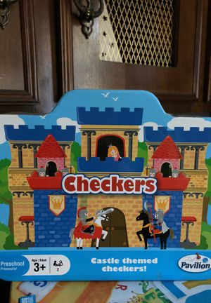 Kids Checkers game for Sale in Houston, TX