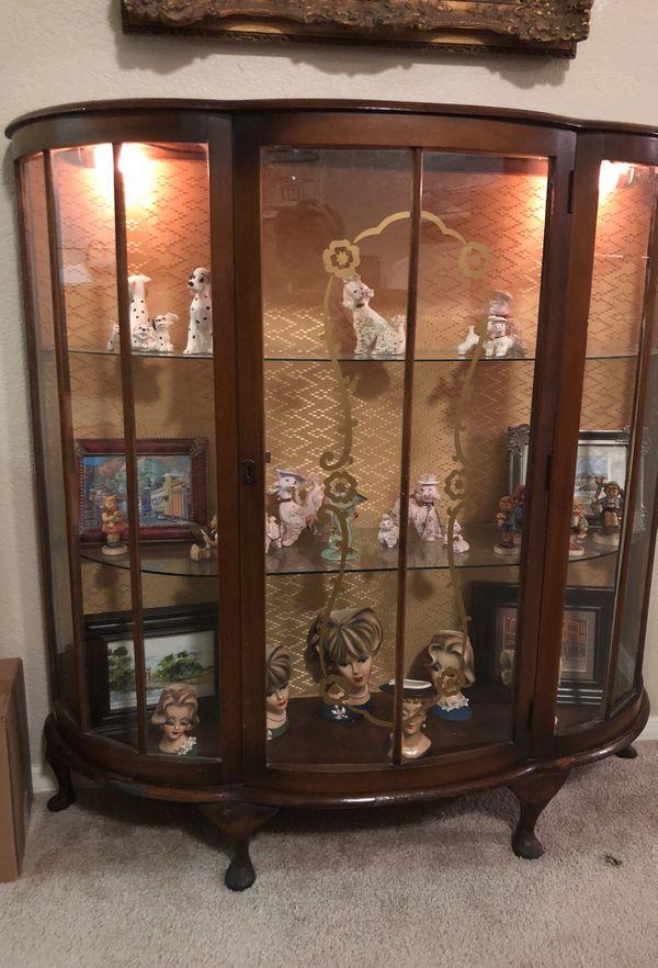 - Antique Curio Cabinet (Antiques) In Phoenix, AZ - OfferUp