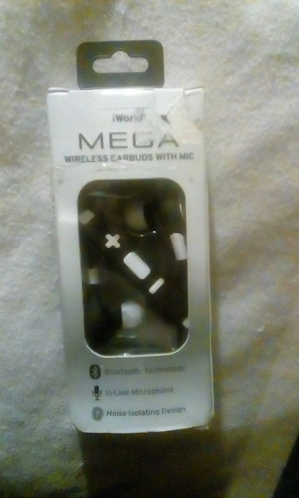 cac52f29dd3 Bluetooth Wireless earbuds with mic. iWorld mega for Sale in Las ...