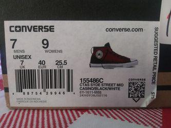 Red Converse Thumbnail