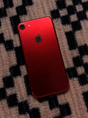 Iphone 7 product red 128GB unlock for Sale in Severn, MD