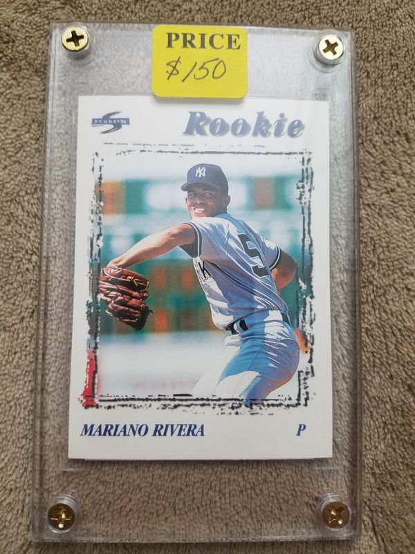 Mariano Rivera Rookie Card For Sale In Hollywood Fl Offerup