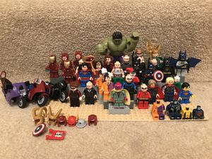 Lego super hero minifigures for Sale in Alexandria, VA