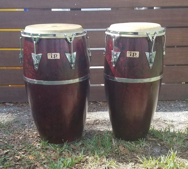 lp latin percussion congas vintage palisades park tumbadora and quinto tall 28 for sale in. Black Bedroom Furniture Sets. Home Design Ideas