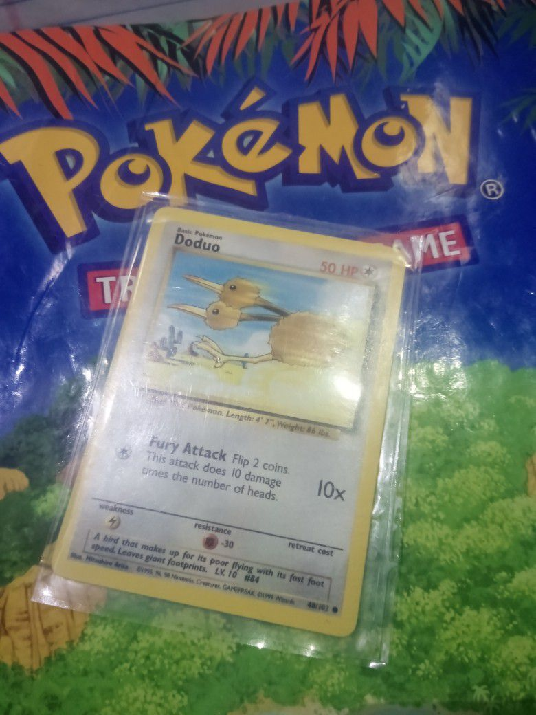 Doduo. Pokemon Card#48/102. Nice Condition.