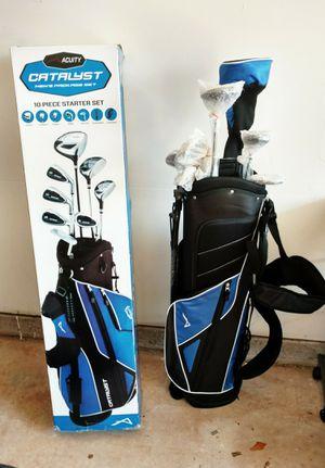Left hand complete golf set for Sale in Manassas, VA