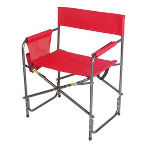 Ozark Trail Comfort Director Chair with Side Pocket, Red Color, j13-6093 for Sale in St. Louis, MO