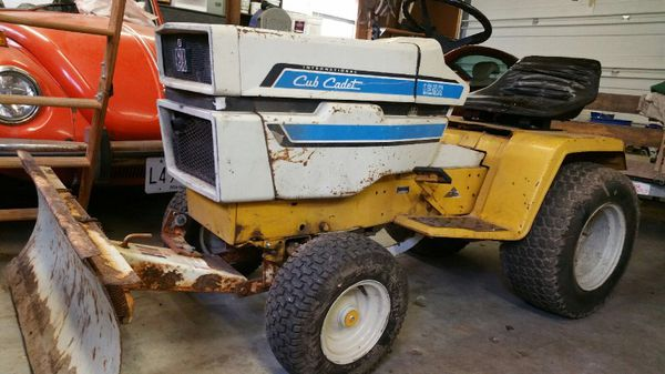 Cub Cadet 1250 Plow Tractor for Sale in Smithsburg, MD - OfferUp
