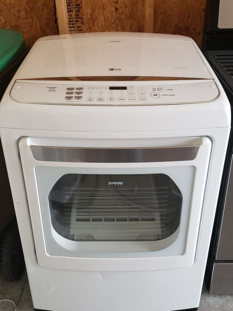 GAS Dryer and Stove