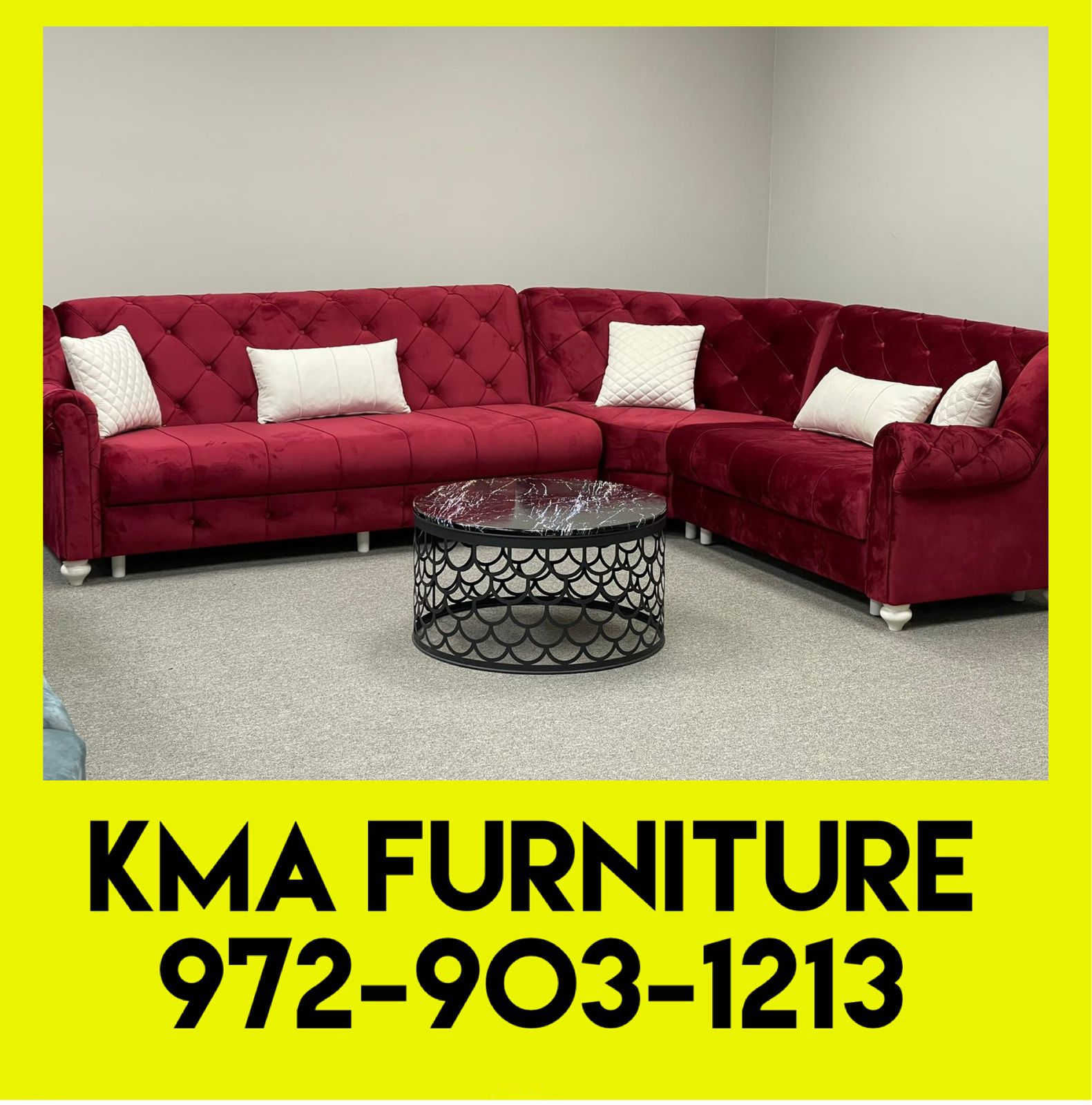 Sectional Delivery Available