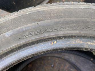 "Hankook 235 45 17 tire 5/32"" 2014 Thumbnail"