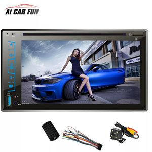 "FY6205C 2 Din Car DVD Player 6.2"" Capacitive Touch screen Handsfree Bluetooth Car Stereo CD/MP3/FM/AM/USB/SD MP4 MP5 Player for Sale in Bethesda, MD"