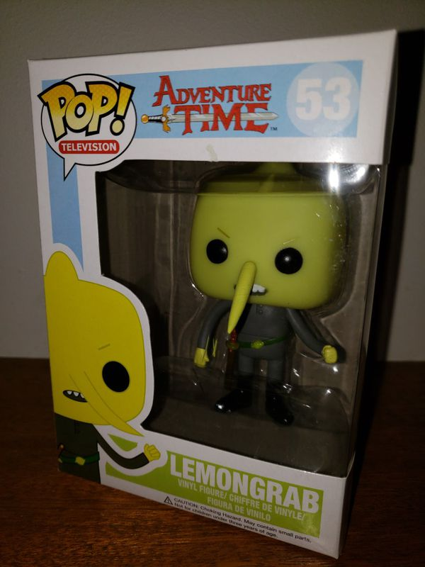 Lemongrab Adventure Time Funko Pop Retired Vaulted For Sale In