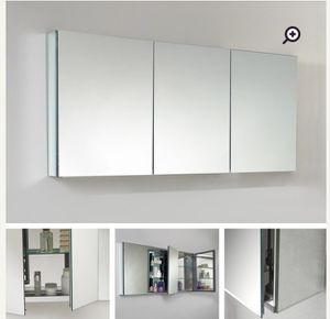 Modern new (out-of-box) triple bathroom medicine cabinet-must sell for Sale in Washington, DC