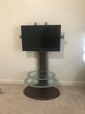 Floor Tv Stand With Mount And Tv for Sale in Washington, DC
