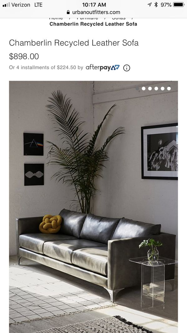 Fine Urban Outfitters Recycled Leather Couch For Sale In Mesa Az Offerup Ibusinesslaw Wood Chair Design Ideas Ibusinesslaworg