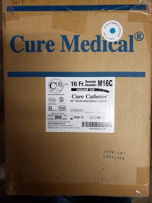Cure Catheter 16Fr M16C Coude Tip for Sale in Indianapolis, IN