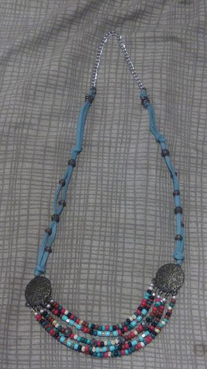 Multicolored faux suede necklace for Sale in Azusa, CA