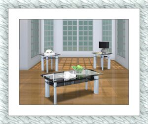 3pc coffee glass table brand new for Sale in McLean, VA