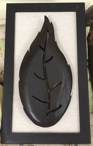 Beautiful wooden Leaf Wall Art for Sale in Chantilly, VA