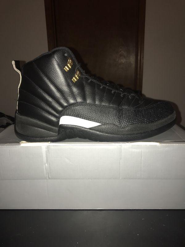 82b8e5ad24c8 Retro Air Jordan 12 The Master Size 11.5 Men Black