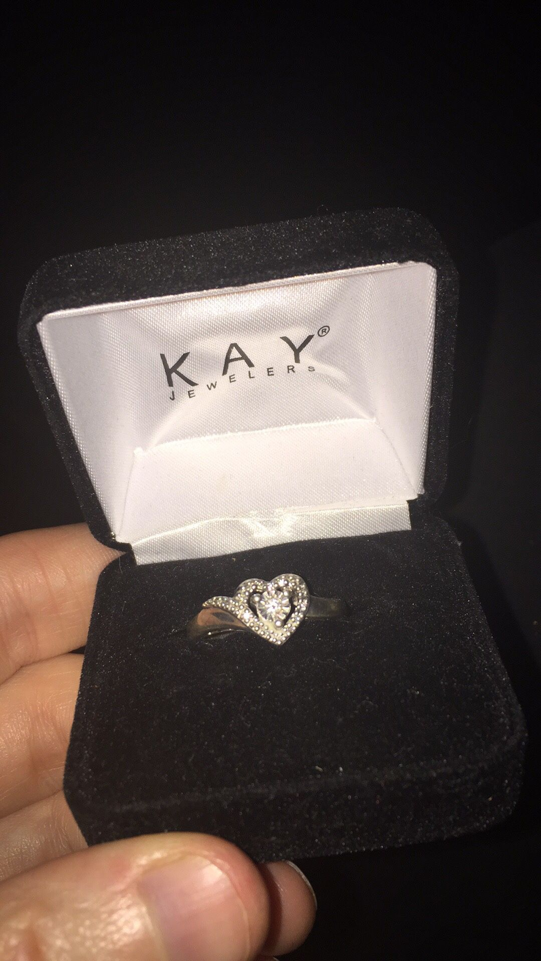 Kay engagement ring size 8 never been worn