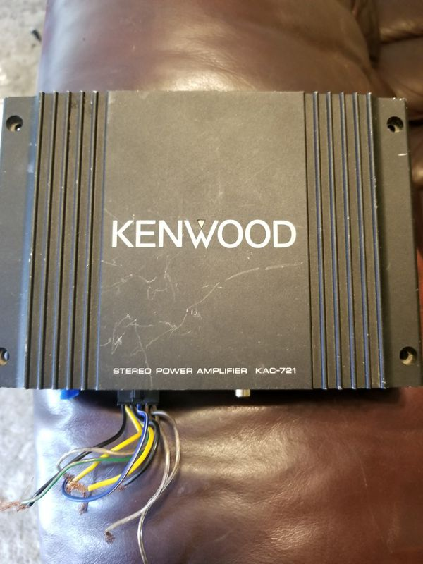 Kenwood Amp for Sale in Eugene, OR - OfferUp on