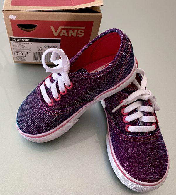 9e62d85dd6138d Pink Toddler girl Vans size 7