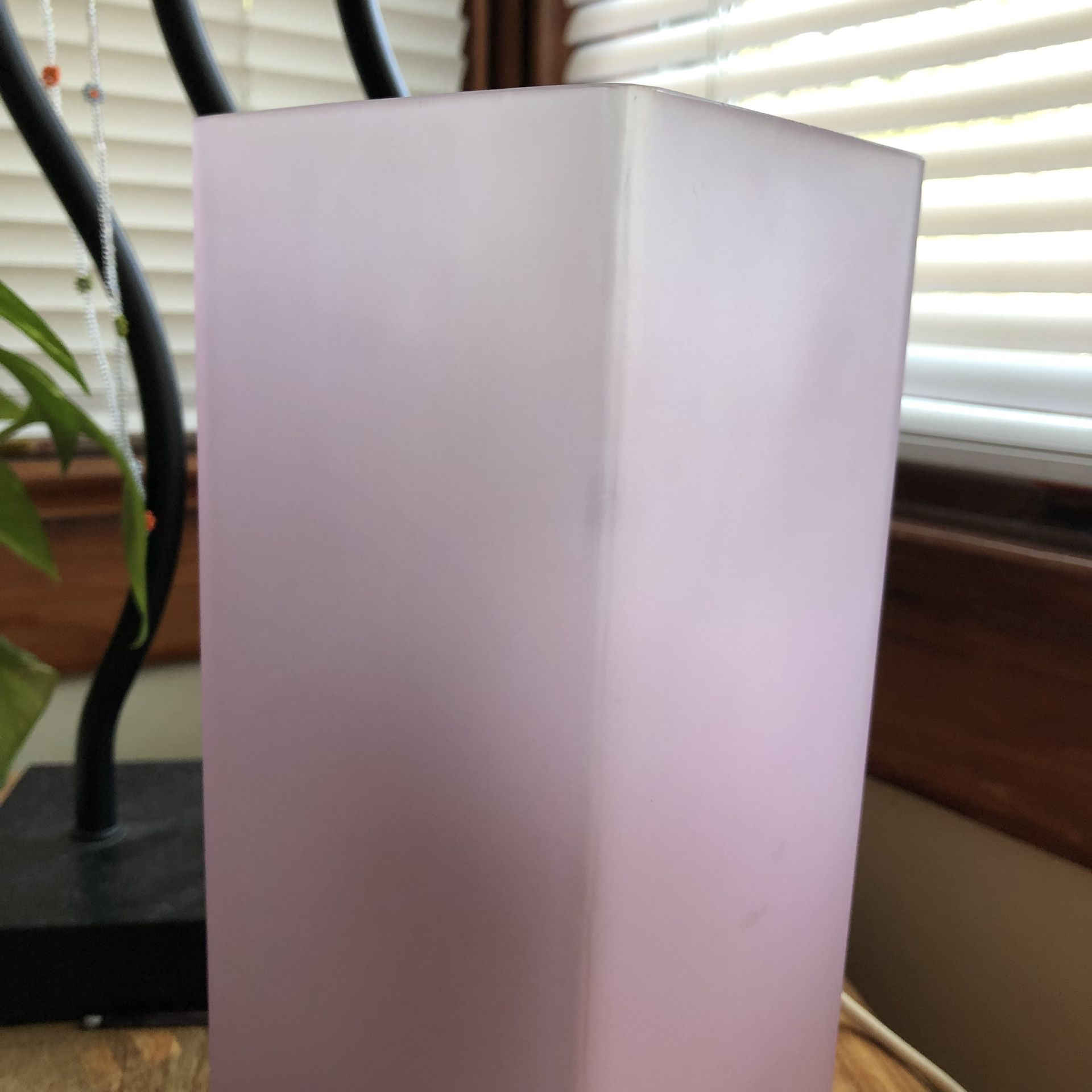 IKEA Soft Pink Lamp